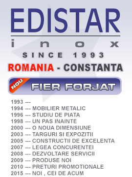 Insider Inox - Fier Forjat - since 1993 in Bucuresti si in Constanta